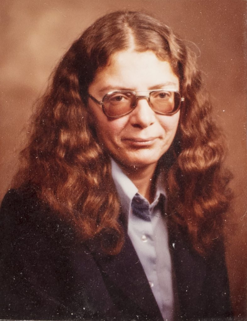 Dianne Post's 1979 class exit photo