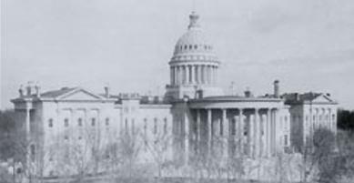 Capitol Building circa 1889
