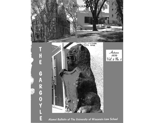 cover to the Gargoyle, Vol. 2.1